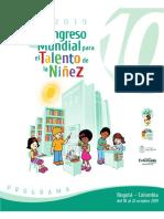 Congreso mundial de la niñez