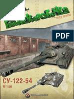 SU-122-44 Tank model Template