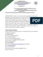Formato Convenio Especifico Para Practicas Preprofesionales