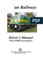 Driver Manual for Wag 9 Loco