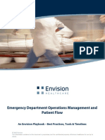 ED Operations Management and Patient Flow Playbook and Toolkit