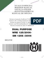 Manual de taller husqvarna wre 125 2006