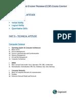 2015 CCSP Course Content & Duration!