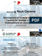 Rock cavern in Singapore