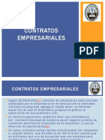 Tema 8 - Contratos Empresariales
