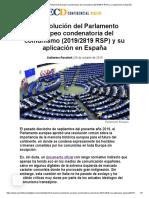 _2819 y Su Aplicación en España