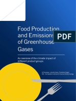 Food Production and GHGs