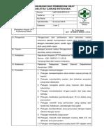 013. SPO Penggunaan Dan Pemberian Obat Dan Atau Cairan Intravena