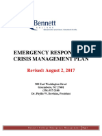 Emergency Response Crisis Management Plan