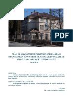 Planificarea Si Organizarea Serviciilor de Sanatate La Nivelul Spitalului de Pneumoftiziologie Aiud