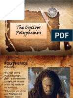 The Cyclops Polyphemus