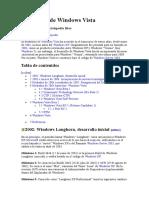 Desarrollo de Windows Vista