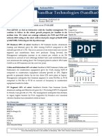 Sandhar Technologies Profit Set to More Than Double Over FY18-20E