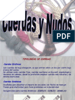 Cuerdas y nudo