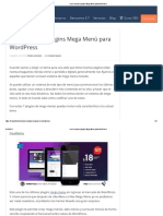 Los 6 Mejores Plugins Mega Menú Para WordPress