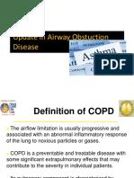 Update in Airway Obstuction Disease