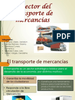 El Sector Del Transporte de Mercancías