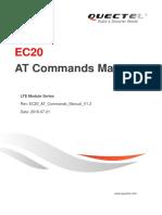 Quectel EC20 at Commands Manual