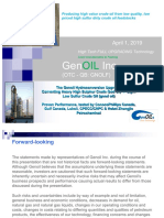 2019 Genoil Website Investor Presentation