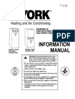York P3HU/P3DN User's Information Manual