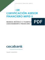 Modulo 5-Planificación y Asesoramiento Financiero