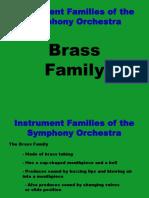 Brass Family PPT