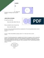 Statistics Notes 9