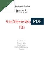 Ce 601 Num Meth Lecture 33