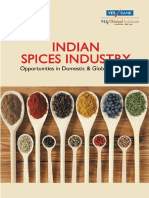 Indian Spices Industry Opportunities in Domestic and Global Markets