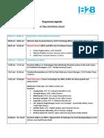 Final Agenda of 8th MiNE INDIA 2019, Chennai