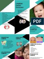 Leaflet Campak