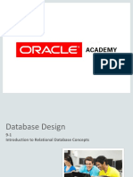 Database Relation Concepts