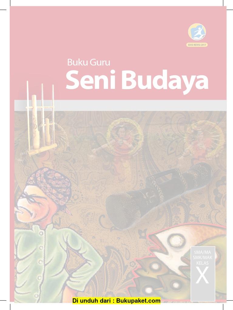 Buku Guru Seni Budaya Revisi 2017