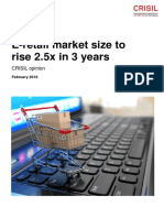e Retail Market Size to Rise 2dot5x in 3 Years