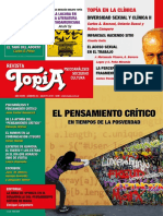 Revista Topia 83 Agosto 2018 Pensamiento Critico Posverdad