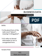 Business Data