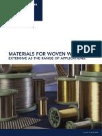 P 43 E Materials