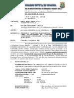 INFORME N° 49- 2019 ALCANZO EXPEDIENTE ADICIONAL 111