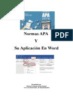Normas APA y su aplicación en WORD