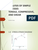 Lecture_2 Analysis of Simple Stresses