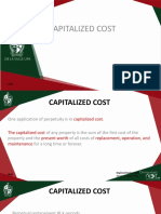 EngiEcon 4 - Capitalized Cost, Amortization and Arithmetic Gradient