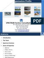 Spectrum Organisation Profile-Pictorial