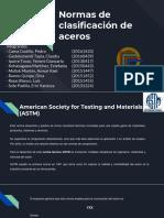 Normas de clasificación del acero