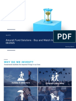 Amundi Fund Solutions Buy and Watch Income 062025 - Retail Advisor