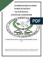 AJPD RDC Statuts