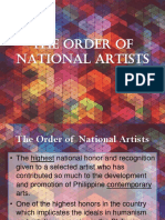 The Order of National Artists