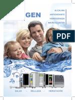 Catalogo Agua Kangen Enagic Nuevo