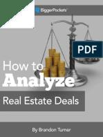 Analizar Real Estate