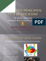 6 Primeros Principios, Yo y Mi Sociedad