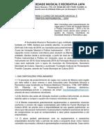 Edital 2019 Banda Da Lapa - Fundo Municipal de Cultura (2)
